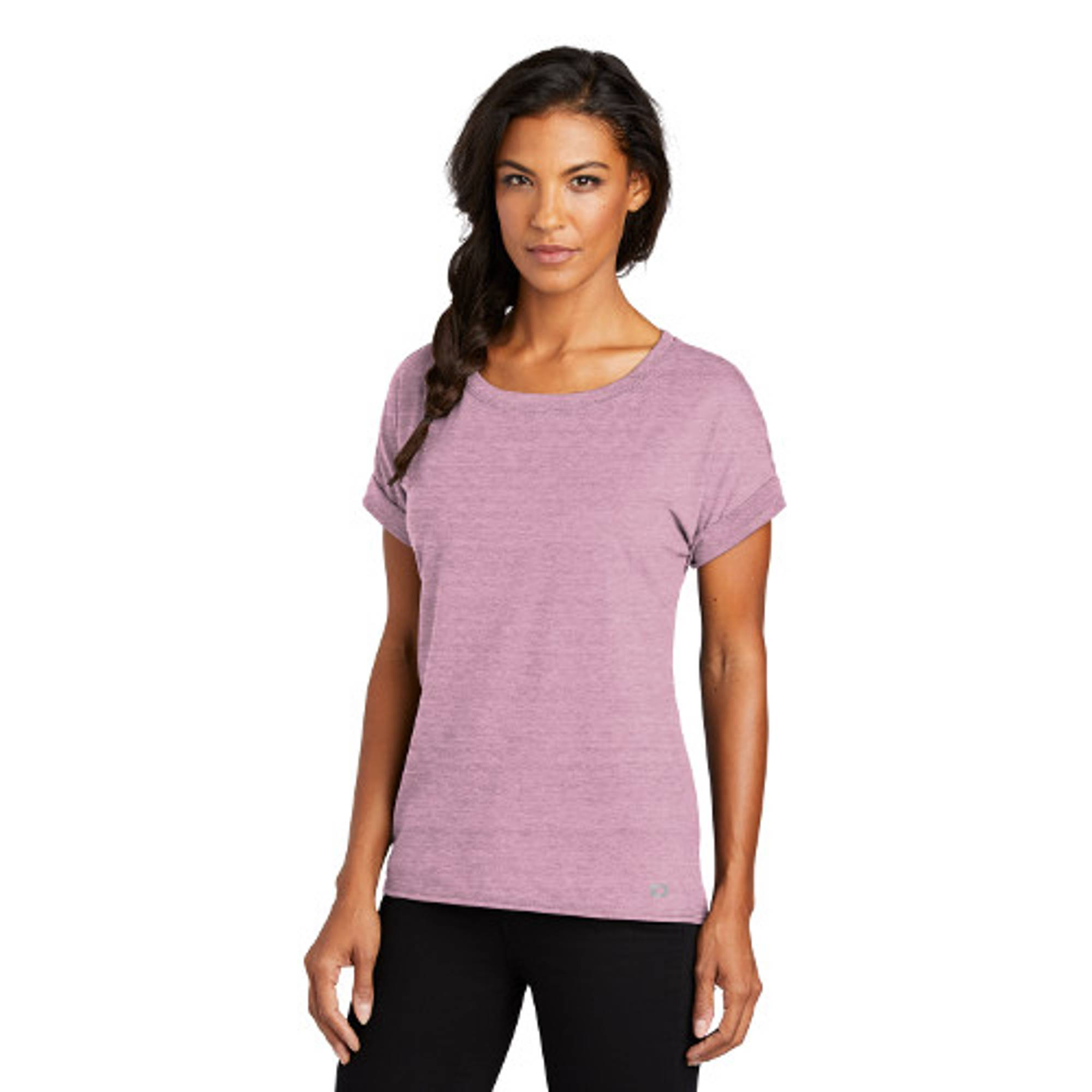 OGIO® Ladies Luuma Cuffed Short Sleeve Tee