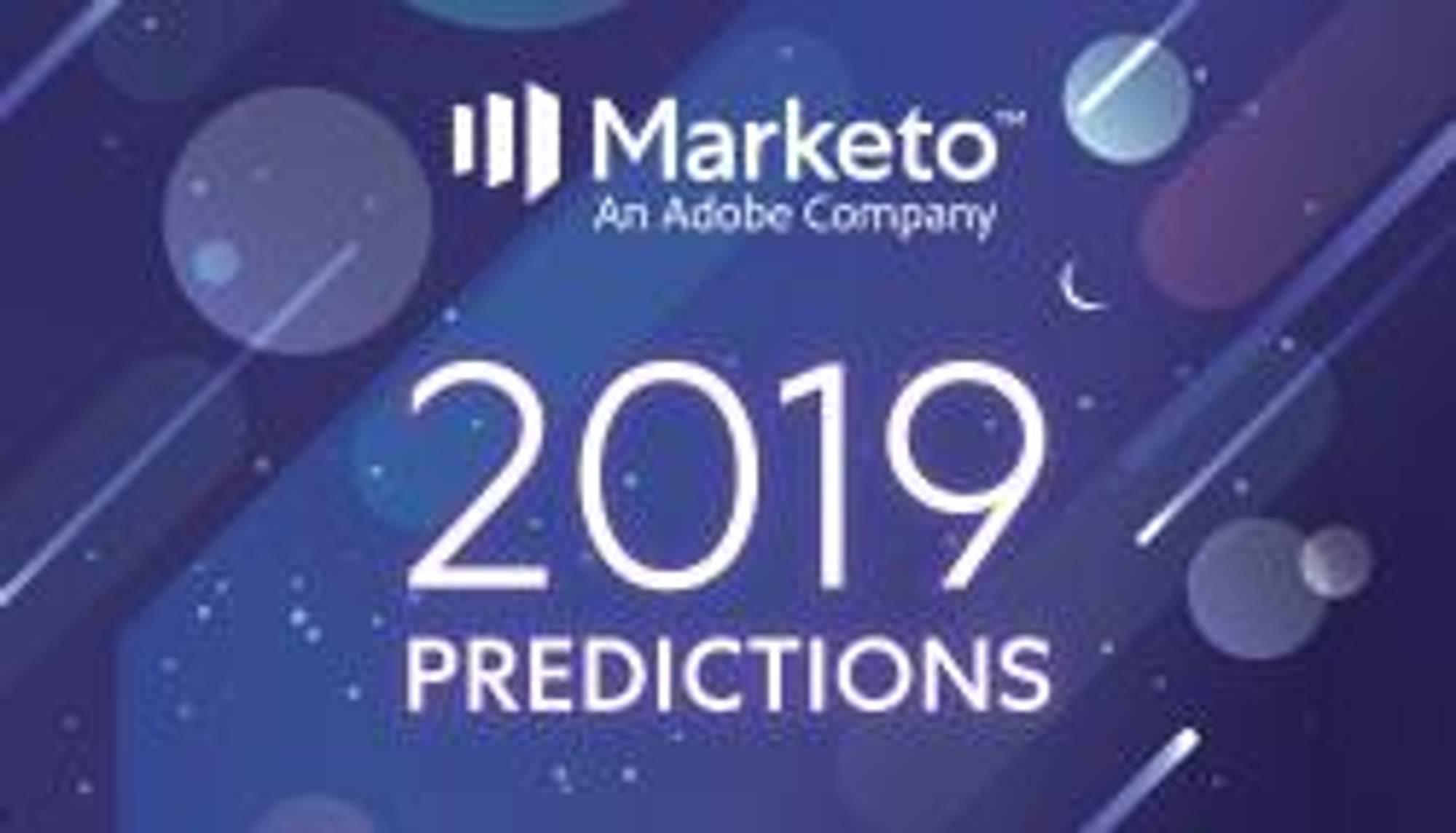 2019 Marketing Predictions